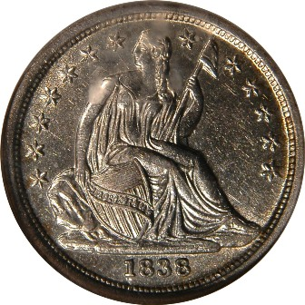 LIBERTY SEATED DIMES (1837-1891)