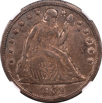 LIBERTY SEATED DOLLARS (1840-1873)