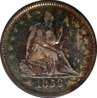 LIBERTY SEATED QUARTER DOLLAR (1838-1891)